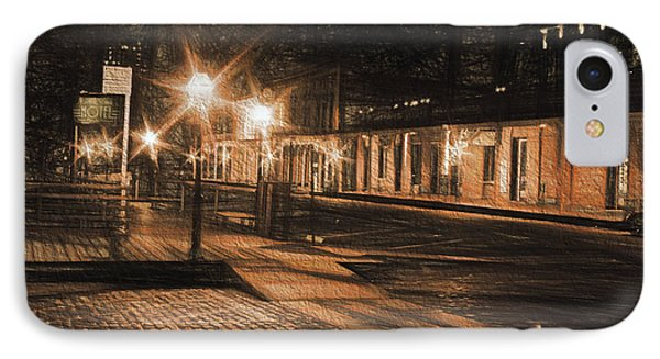 IPhone Case featuring the photograph Abandoned Street by Michael Cleere