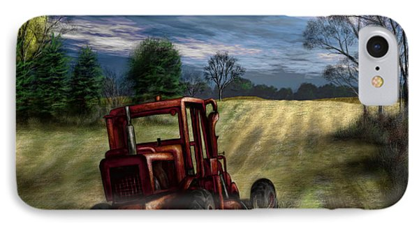 Abandoned Tractor Phone Case by Ron Grafe