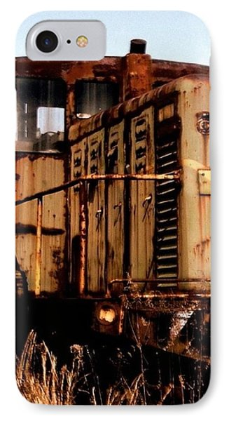 Abandoned Train Phone Case by Jen McKnight