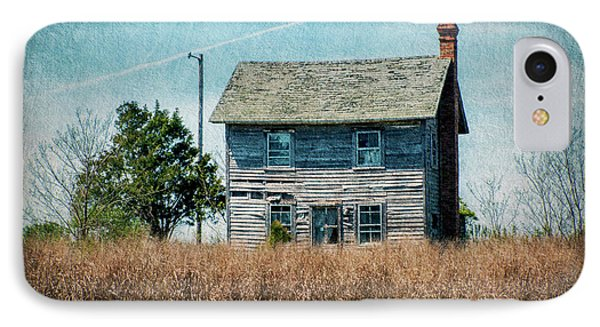 Abandoned Waterfront - Hooper's Island IPhone Case by Brian Wallace
