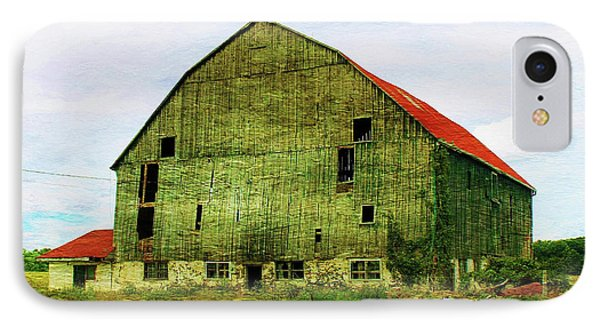 Abandoned Wooden Barn IPhone Case by Anthony Djordjevic