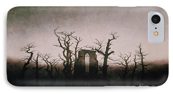 Abbey In The Oakwood IPhone Case by Caspar David Friedrich