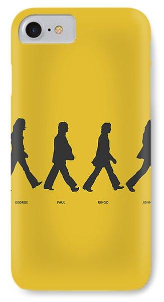 Abbey Road Yellow IPhone Case by Renato Kolberg