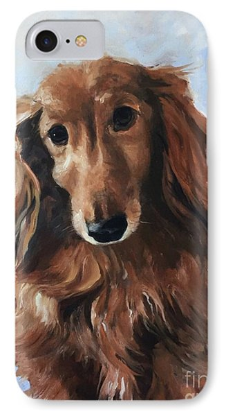 Abby IPhone Case by Diane Daigle