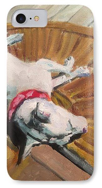 Abby In Sunshine IPhone Case by Susan E Jones