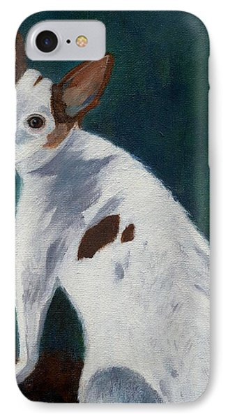 IPhone Case featuring the painting Abby by Jamie Frier