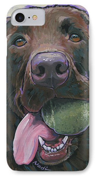 Abby IPhone Case by Nadi Spencer