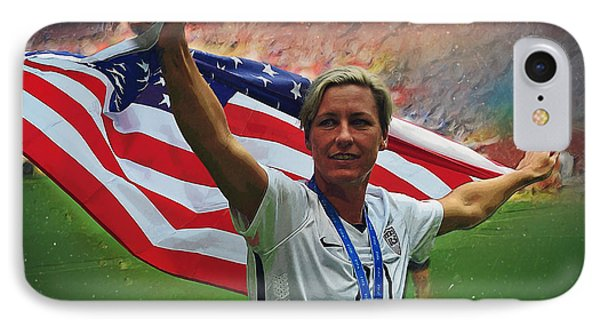 Abby Wambach Us Soccer IPhone 7 Case
