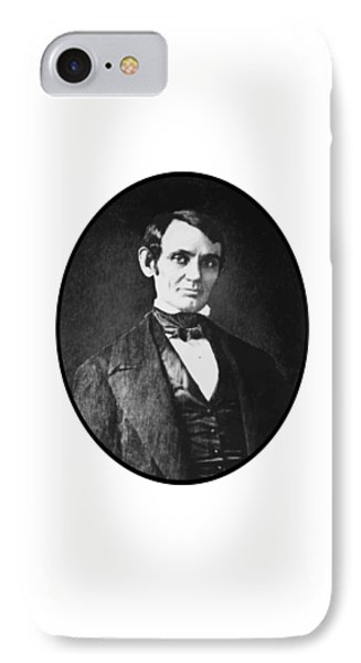 Abe Lincoln As A Young Man  Phone Case by War Is Hell Store