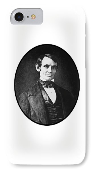 Abe Lincoln As A Young Man  IPhone Case by War Is Hell Store