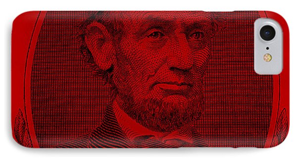 IPhone Case featuring the photograph Abe On The 5 Red by Rob Hans