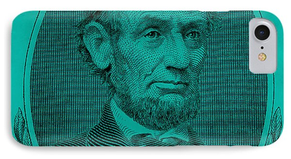 IPhone Case featuring the photograph Abe On The 5 Turquoise by Rob Hans