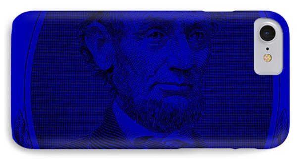 IPhone Case featuring the photograph Abe On The 5 Violet by Rob Hans