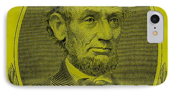 IPhone Case featuring the photograph Abe On The 5 Yellow by Rob Hans