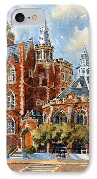 Abercorn-the Old Grammar School IPhone Case by David Gilmore