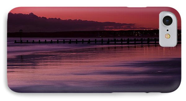 IPhone Case featuring the photograph Aberdeen Beach After Sunset by Gabor Pozsgai