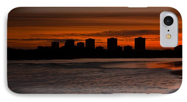 IPhone Case featuring the photograph Aberdeen By Sunset by Gabor Pozsgai