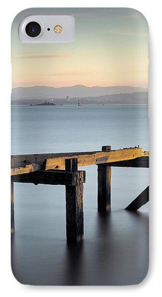 Aberdour Pier IPhone Case by Dave Bowman