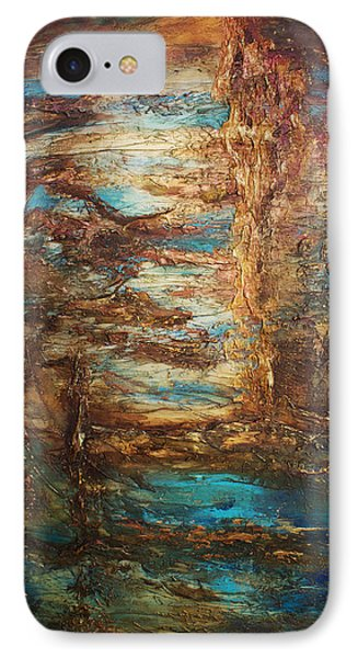 Lagoon IPhone Case by Patricia Lintner