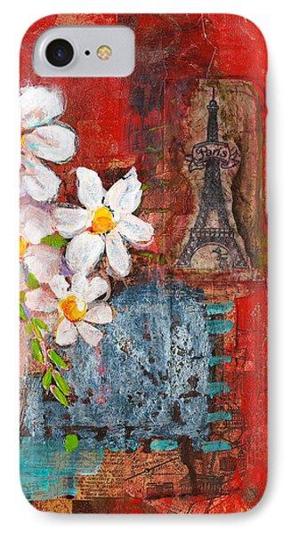 Abigail Daisy Flowers IPhone Case by Blenda Studio