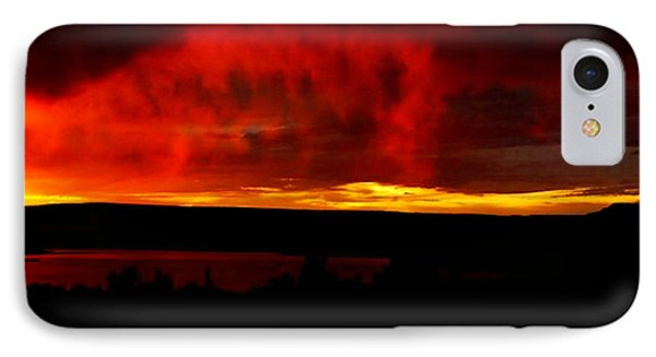 IPhone Case featuring the painting Abiquiu Reservoir  by Dennis Ciscel
