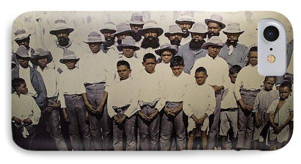 IPhone Case featuring the photograph Aboriginal Life 1901 To 1914 by Miroslava Jurcik