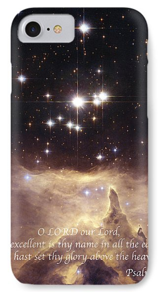 Above The Heavens Phone Case by Michael Peychich