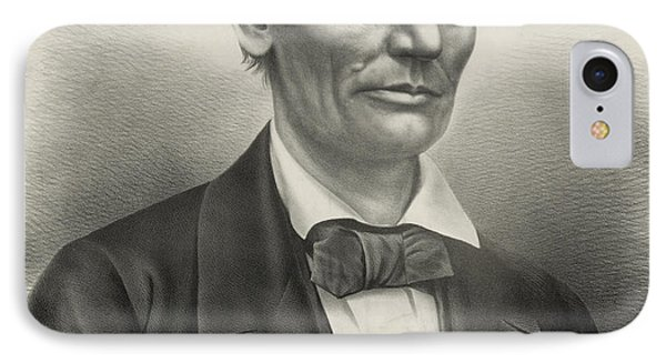 IPhone Case featuring the photograph Abraham Lincoln - As A Presidential Candidate by International  Images