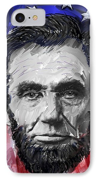 Abraham Lincoln - 16th U S President Phone Case by Daniel Hagerman