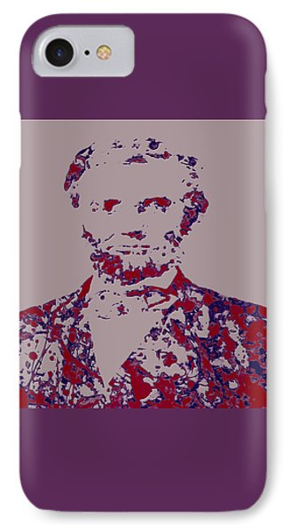 Abraham Lincoln 4c IPhone 7 Case by Brian Reaves