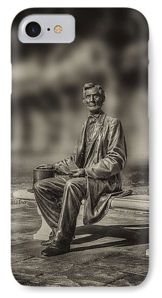 Abraham Lincoln At Gettysburg IPhone Case