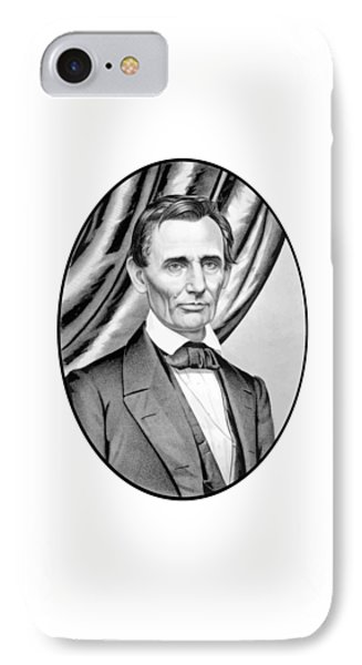 Abraham Lincoln Circa 1860 Phone Case by War Is Hell Store