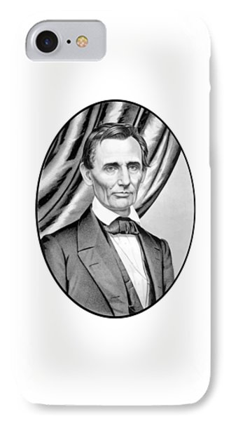 Abraham Lincoln Circa 1860 IPhone Case