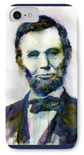 Abraham Lincoln Portrait Study 2 IPhone Case