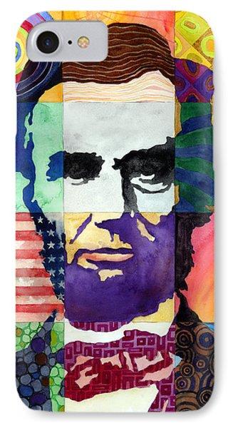 Abraham Lincoln Portrait Study IPhone Case