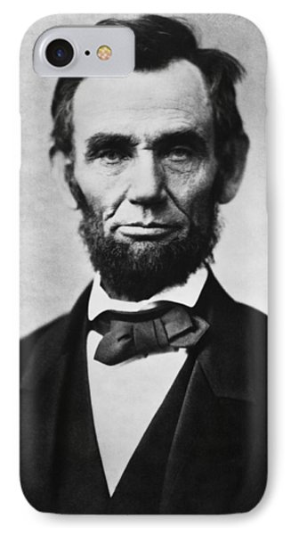 Abraham Lincoln IPhone 7 Case by War Is Hell Store