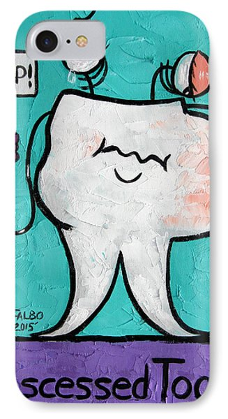 Abscessed Tooth IPhone Case