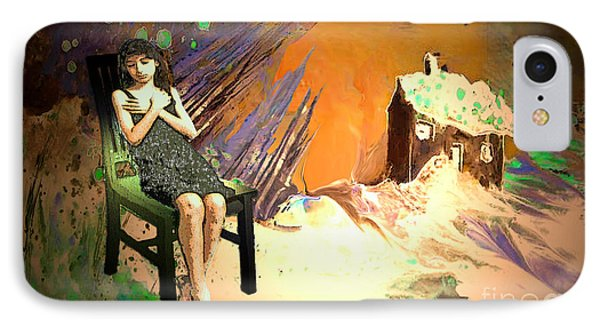 Absent Love Phone Case by Miki De Goodaboom
