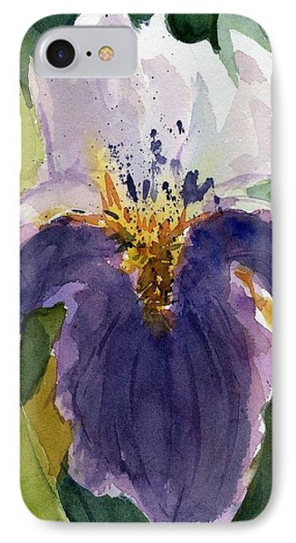 Absract Iris IPhone Case