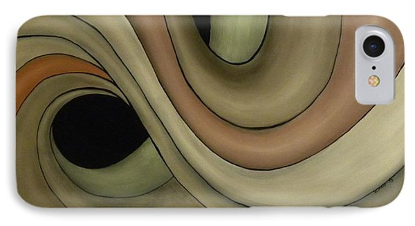 IPhone Case featuring the painting Abstraccion  by Edwin Alverio