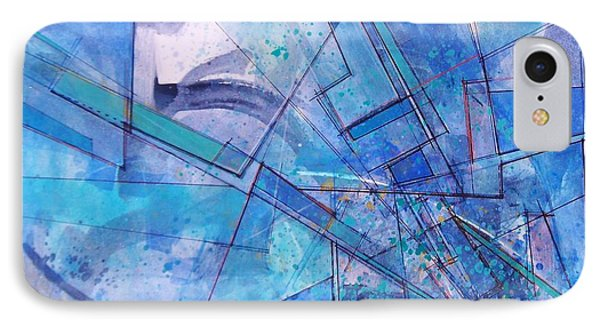 IPhone Case featuring the painting Abstract # 246 by Robert Anderson