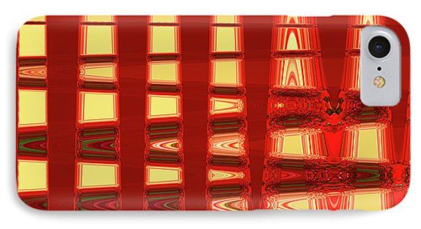Abstract 003 IPhone Case by Ralph Klein