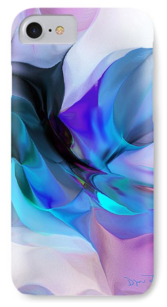 Abstract 012513 IPhone Case by David Lane