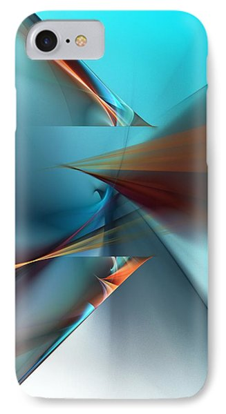 Abstract 040411 IPhone Case by David Lane