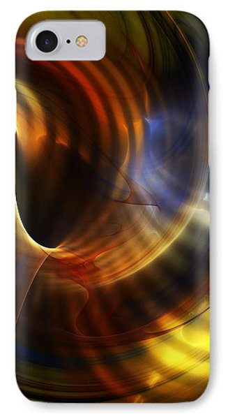 Abstract 040511 IPhone Case by David Lane