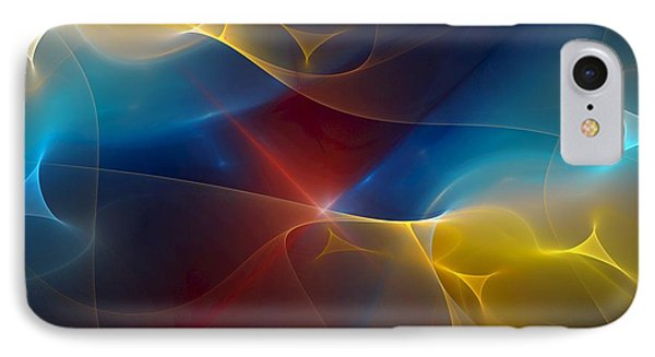 Abstract 060410 Phone Case by David Lane