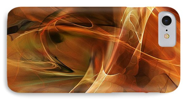 Abstract 060812a IPhone Case by David Lane