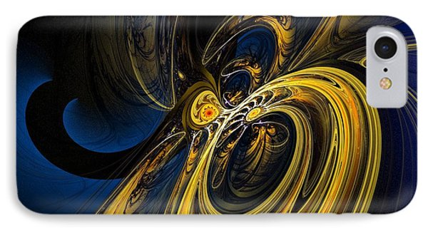 Abstract 060910 IPhone Case by David Lane