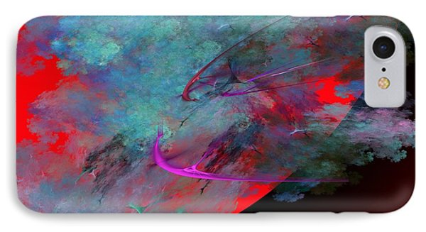 Abstract 102210 IPhone Case by David Lane