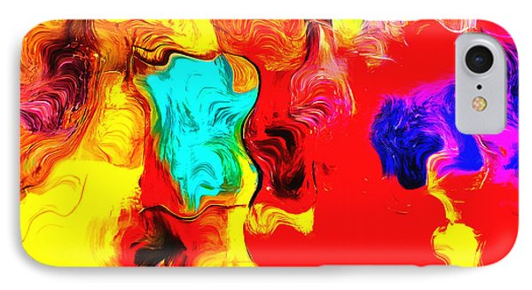 Abstract 104 IPhone Case by Barbara Snyder
